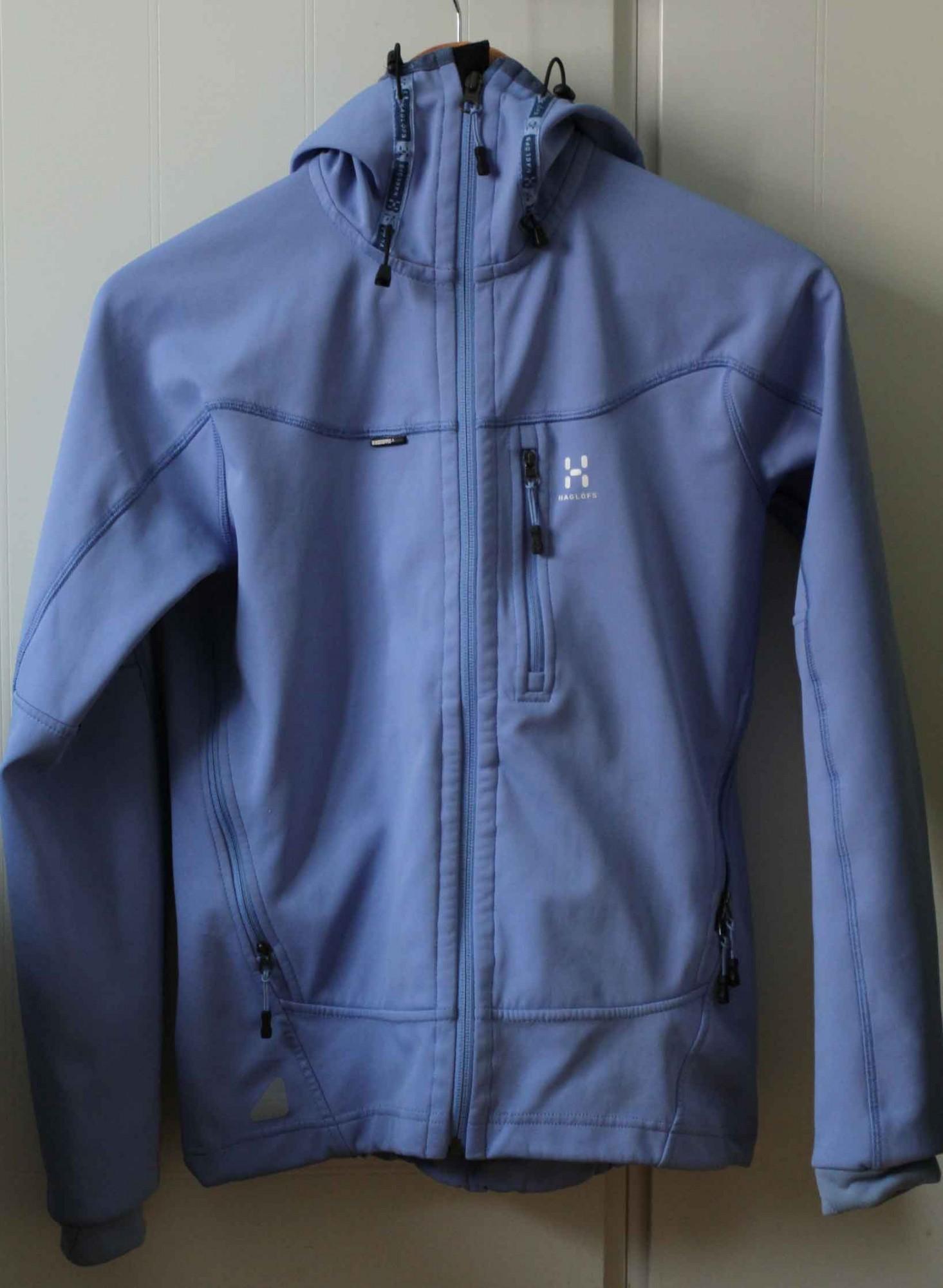 Myydään Softshell takki (naisten) Haglöfs  5e402de8fc